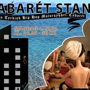 Cabarét Standard PEPPER, en tyrkisk hiphop motorsykkelcabaret, mandag 4. nov. kl. 20.00