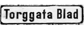 Torggata Blad